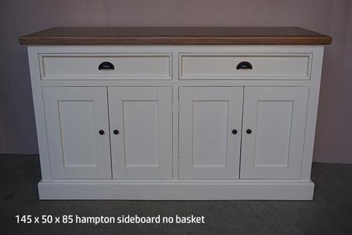 hampton sideboard no basket